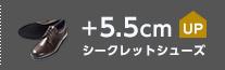 シークレットシューズ +5.5cmUP