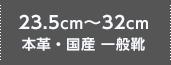 シークレットシューズ 23.5~32cm 本革・国産 一般靴