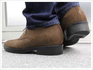革靴本舗のヒールアップシューズ