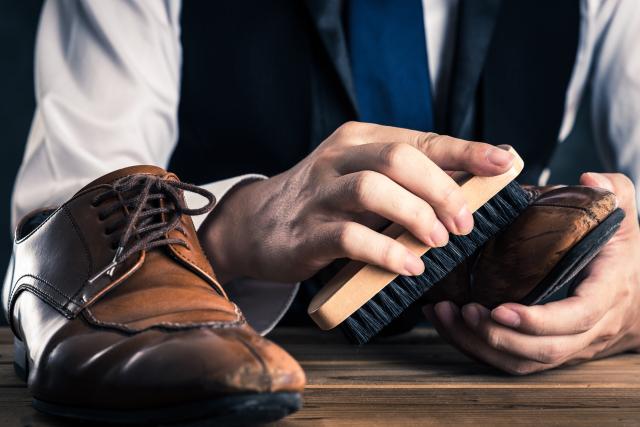 シークレットシューズ 背が高くなる靴のお手入れ方法