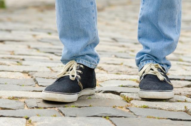 シークレットスニーカー 背が高くなる靴