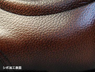 トカゲ型押しがポイントの高級感あるデザイン